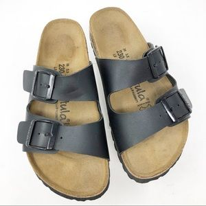 Betula | Arizona Two Strap Leather Sandals